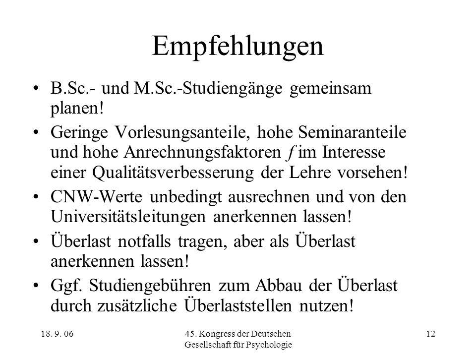 45. Kongress der Deutschen Gesellschaft für Psychologie