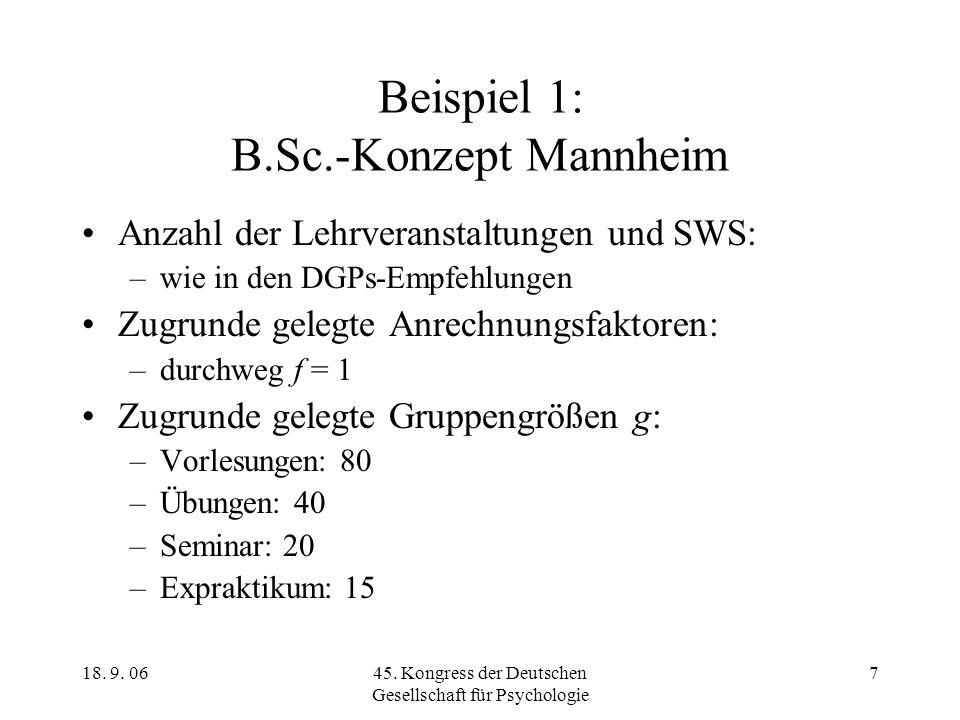 Beispiel 1: B.Sc.-Konzept Mannheim