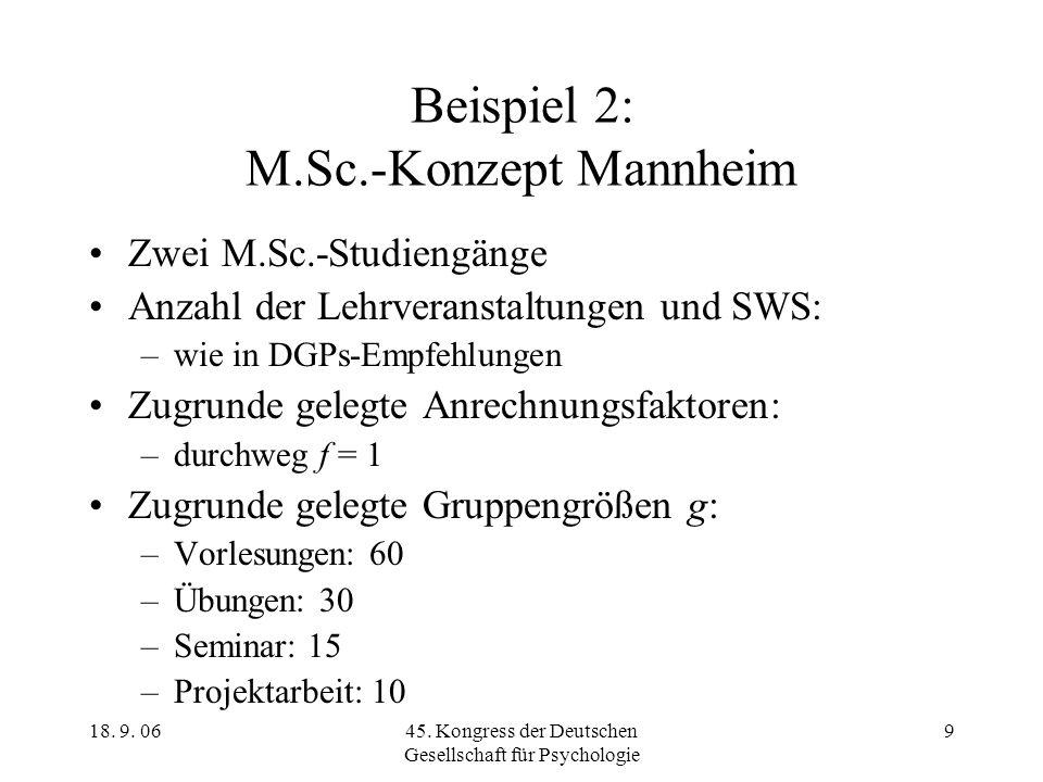 Beispiel 2: M.Sc.-Konzept Mannheim