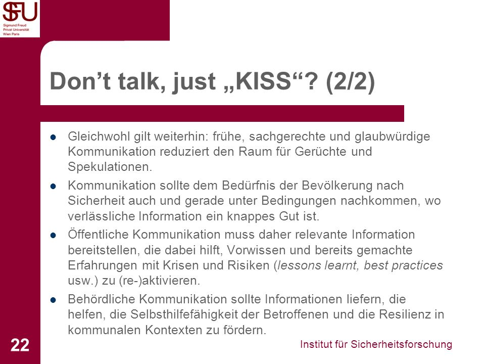 """Don't talk, just """"KISS (2/2)"""