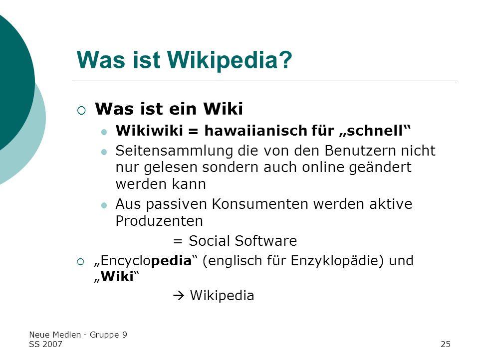 Was ist Wikipedia Was ist ein Wiki