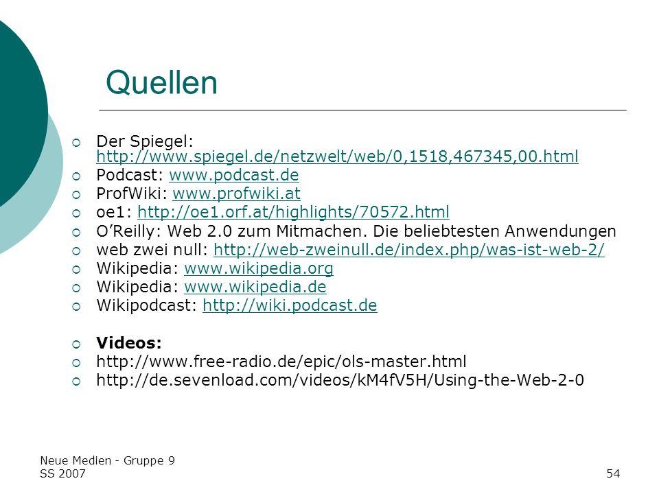Quellen Der Spiegel: http://www.spiegel.de/netzwelt/web/0,1518,467345,00.html. Podcast: www.podcast.de.