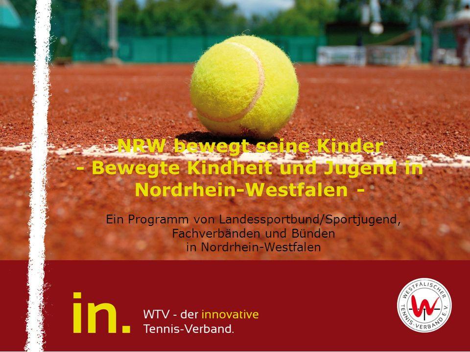 NRW bewegt seine Kinder - Bewegte Kindheit und Jugend in Nordrhein-Westfalen -
