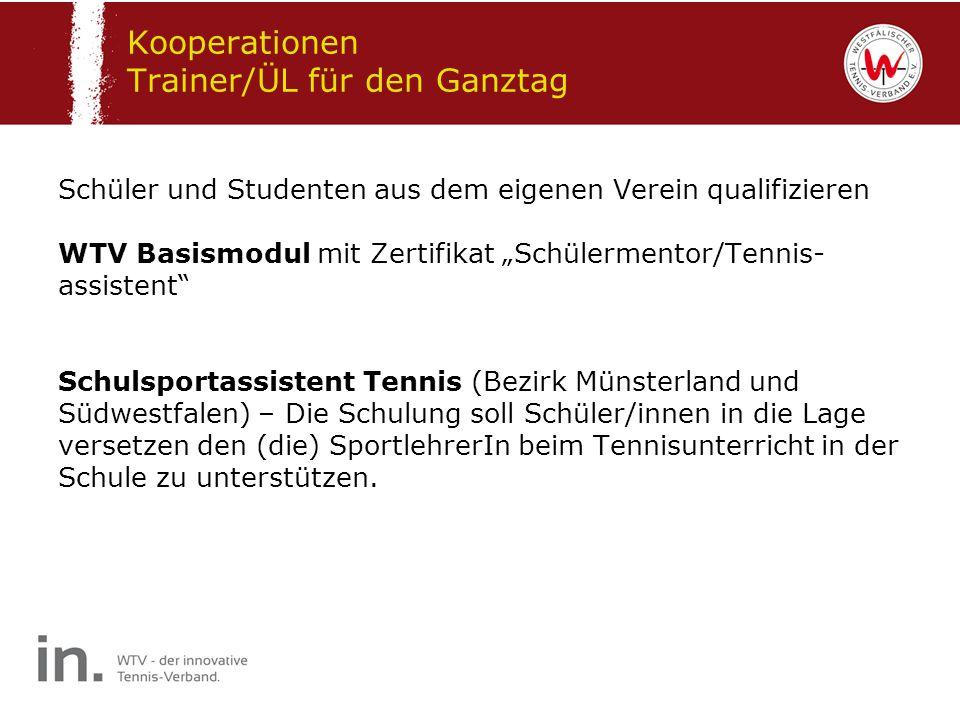 Kooperationen Trainer/ÜL für den Ganztag