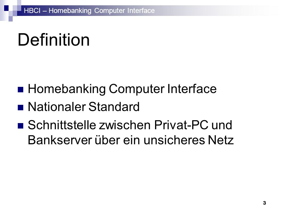 Definition Homebanking Computer Interface Nationaler Standard
