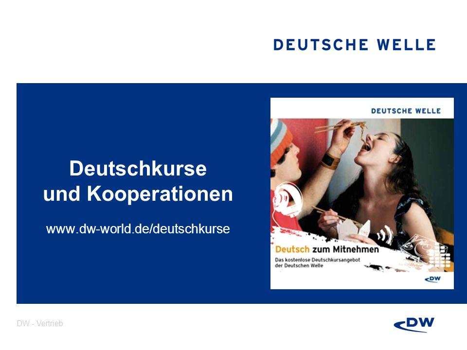 Deutschkurse und Kooperationen www.dw-world.de/deutschkurse