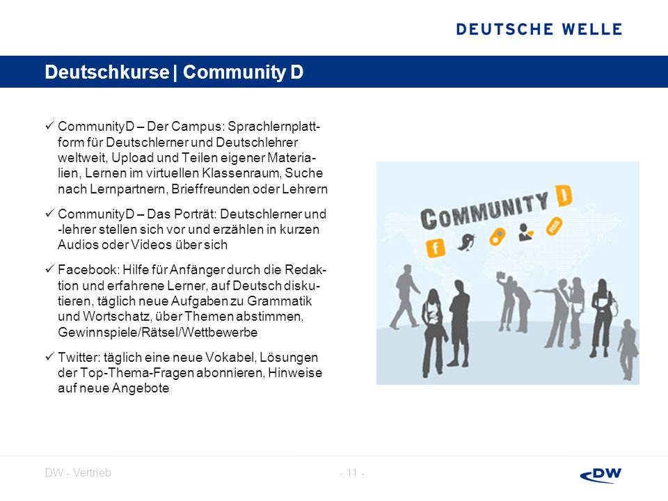 Deutschkurse | Community D