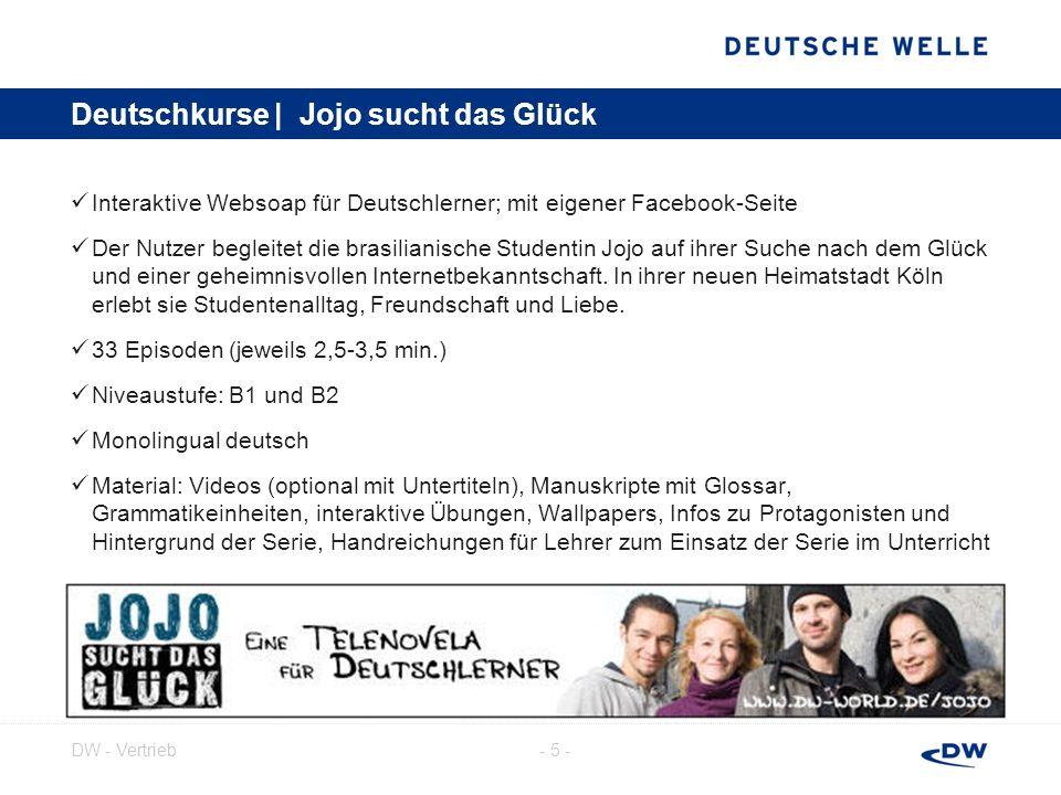 Deutschkurse | Jojo sucht das Glück