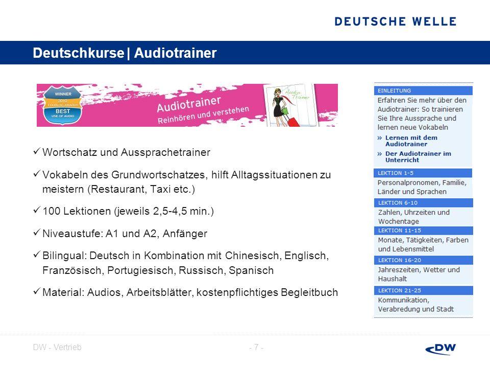 Deutschkurse | Audiotrainer