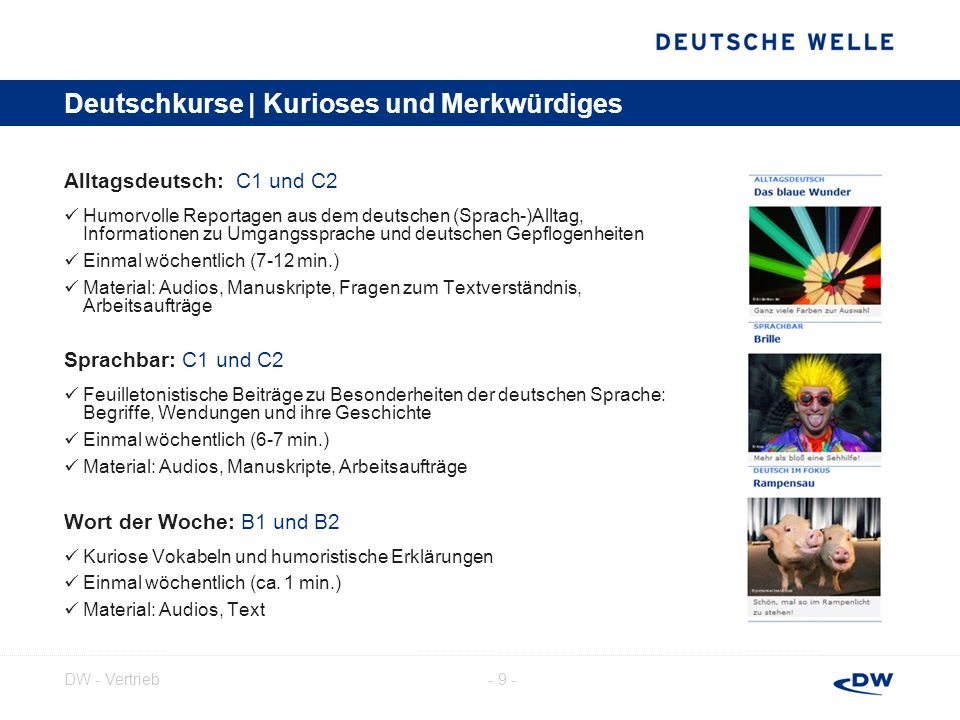 Deutschkurse | Kurioses und Merkwürdiges