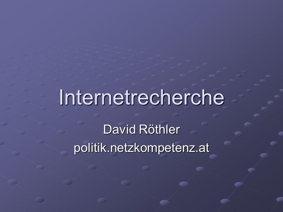 David Röthler politik.netzkompetenz.at