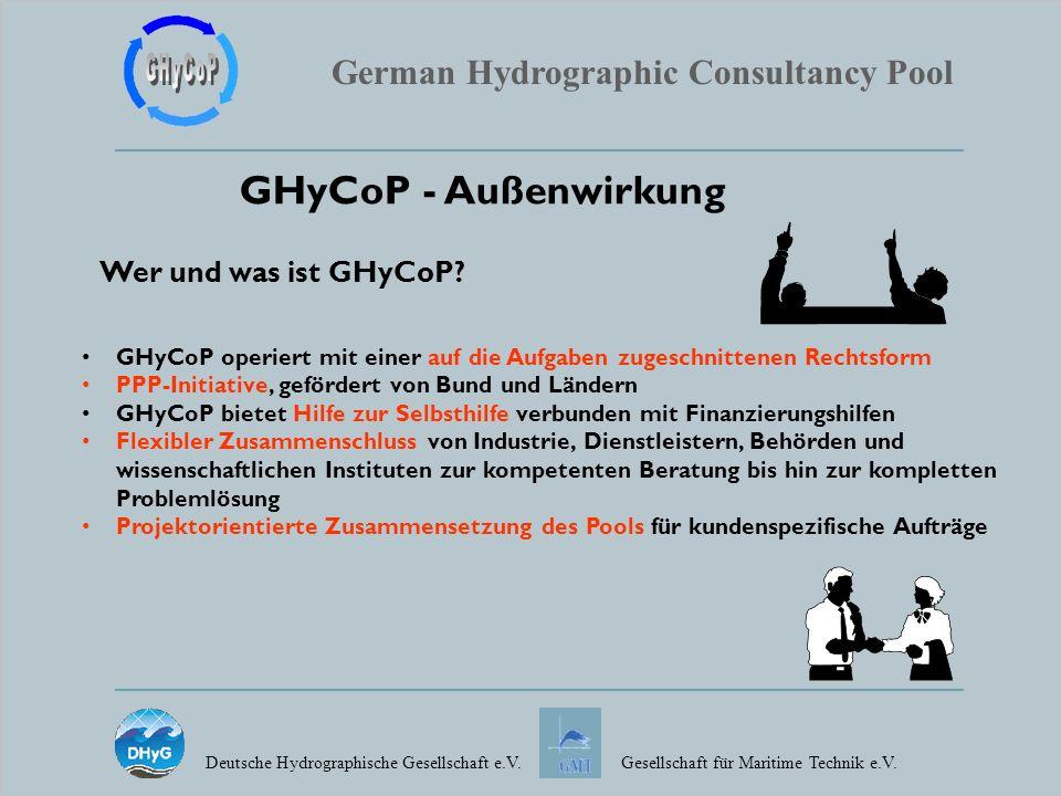 GHyCoP - Außenwirkung Wer und was ist GHyCoP