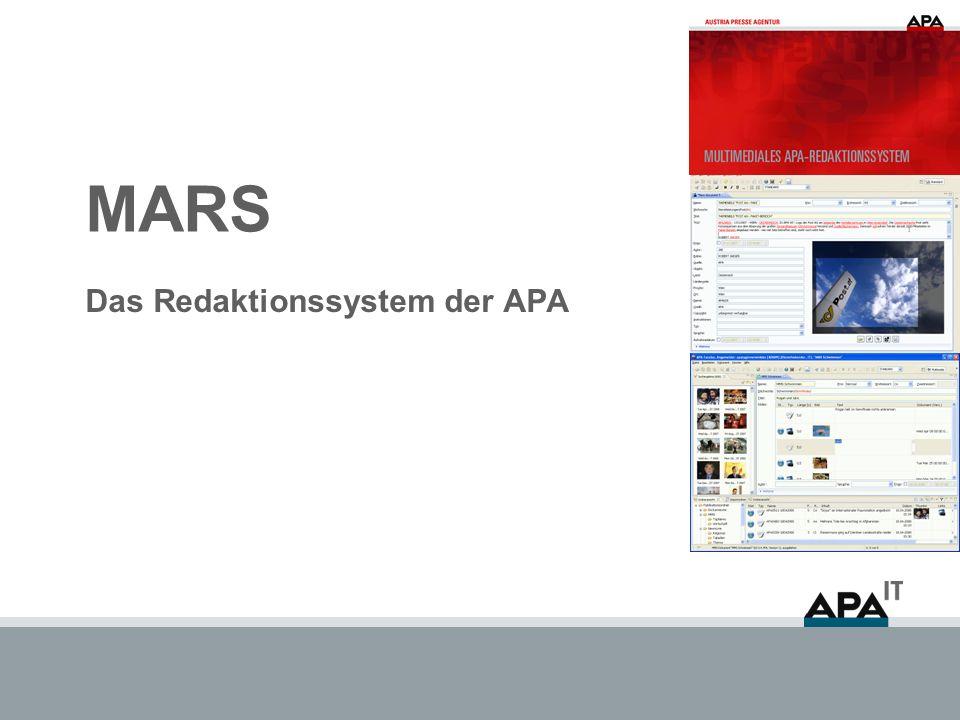 Das Redaktionssystem der APA