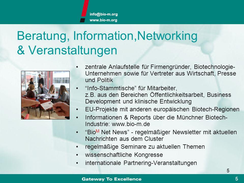 Beratung, Information,Networking & Veranstaltungen
