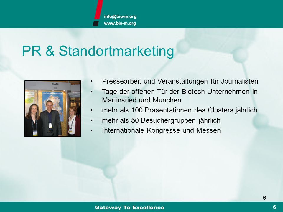 PR & Standortmarketing