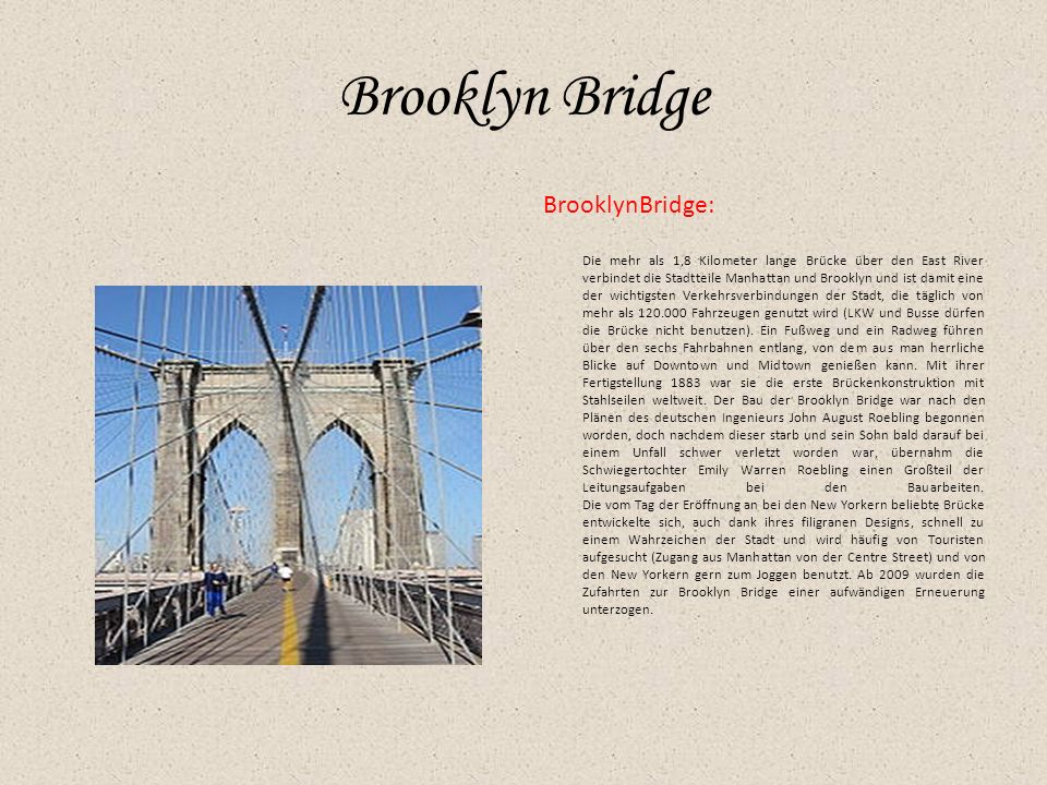 Brooklyn Bridge BrooklynBridge: