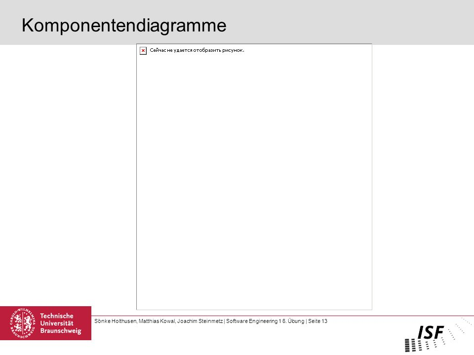 Komponentendiagramme