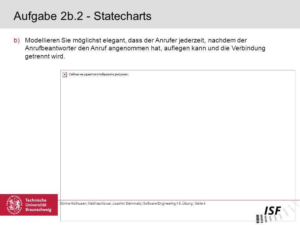 Aufgabe 2b.2 - Statecharts