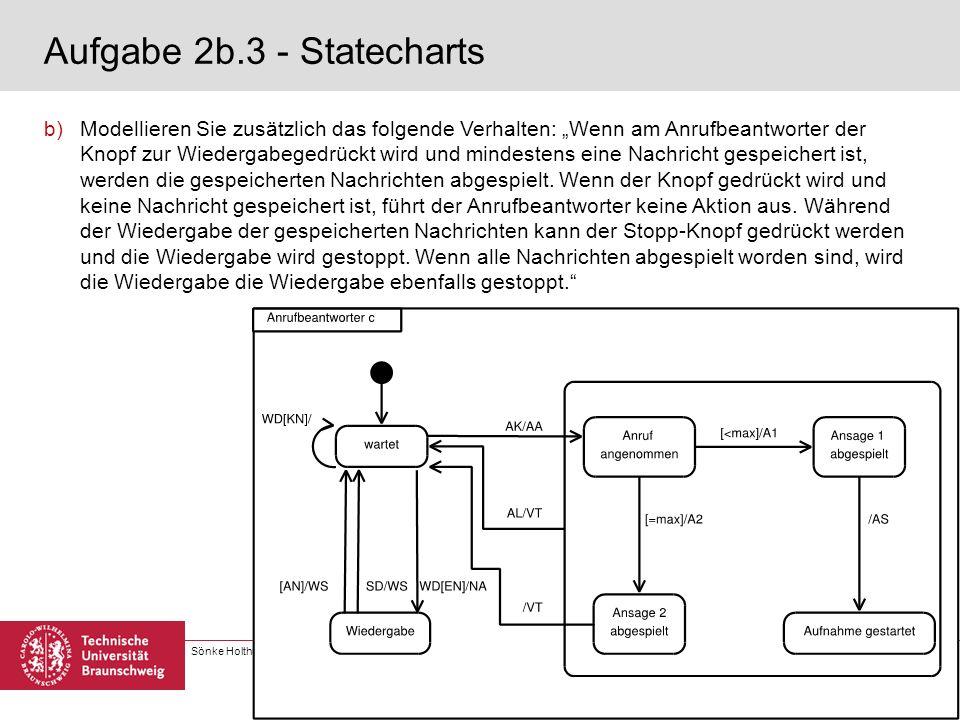 Aufgabe 2b.3 - Statecharts