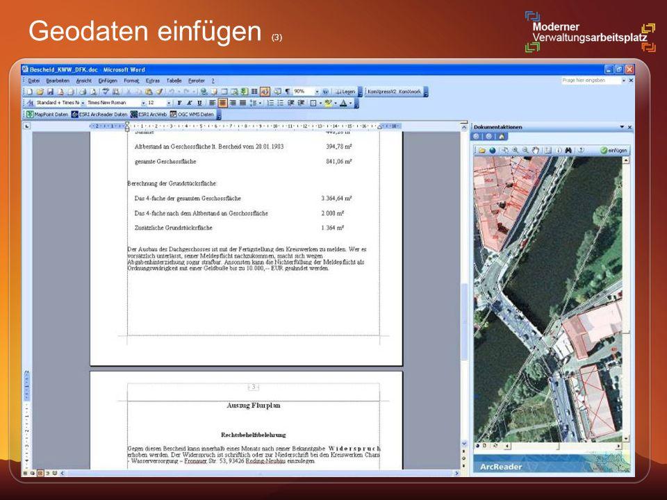 Geodaten einfügen (3)