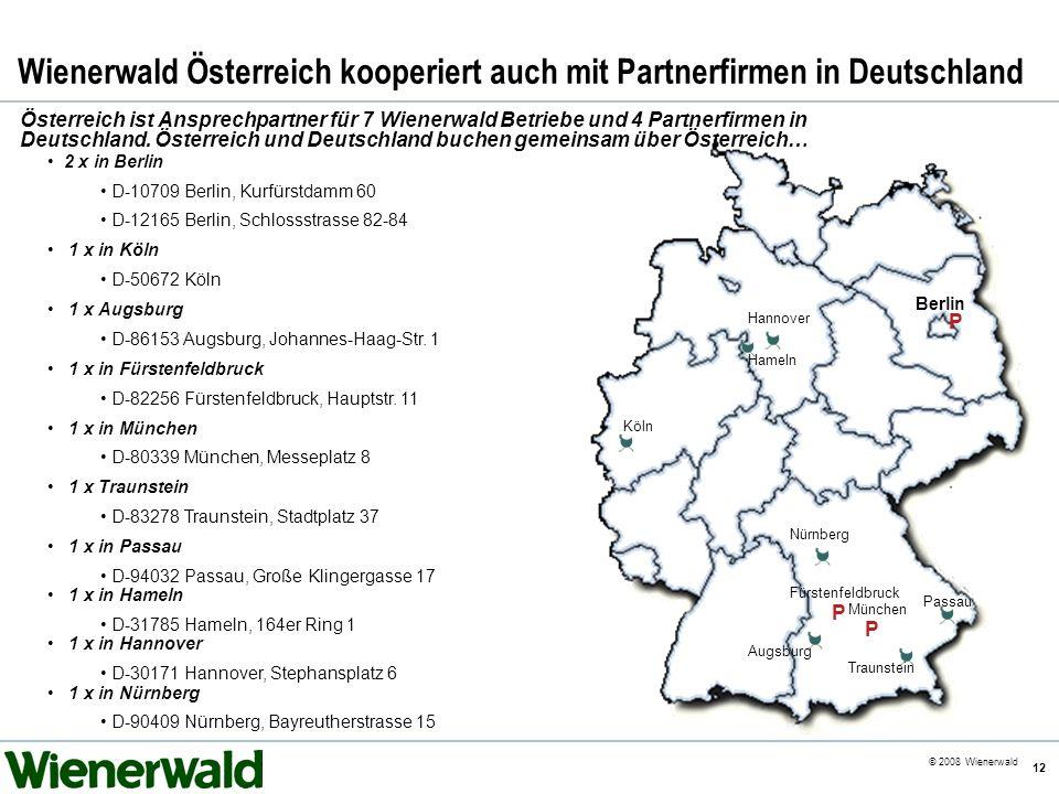 Wienerwald Österreich kooperiert auch mit Partnerfirmen in Deutschland