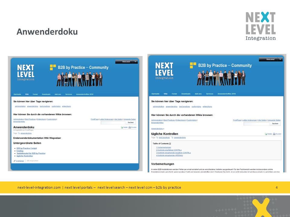 Anwenderdoku next-level-integration.com | next level portals – next level search – next level ccm – b2b by practice.