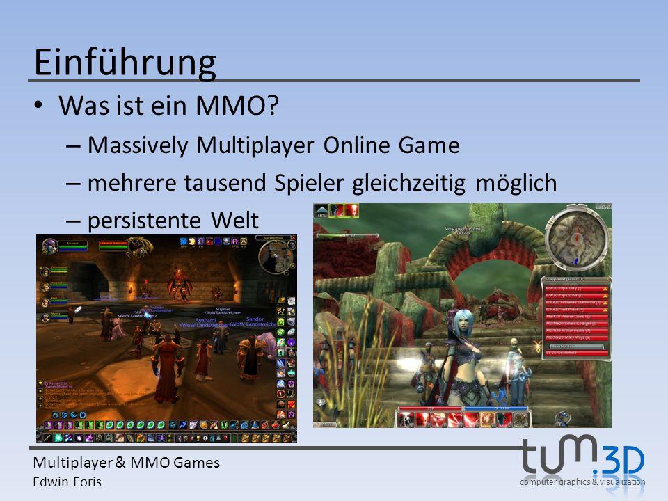 Einführung Was ist ein MMO Massively Multiplayer Online Game