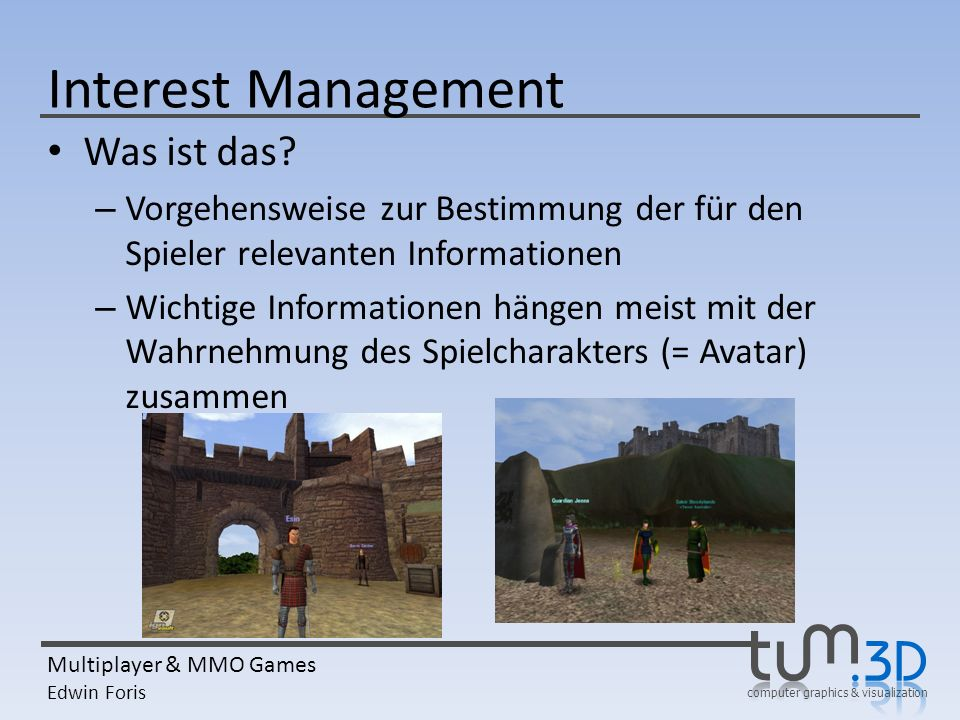 Interest Management Was ist das