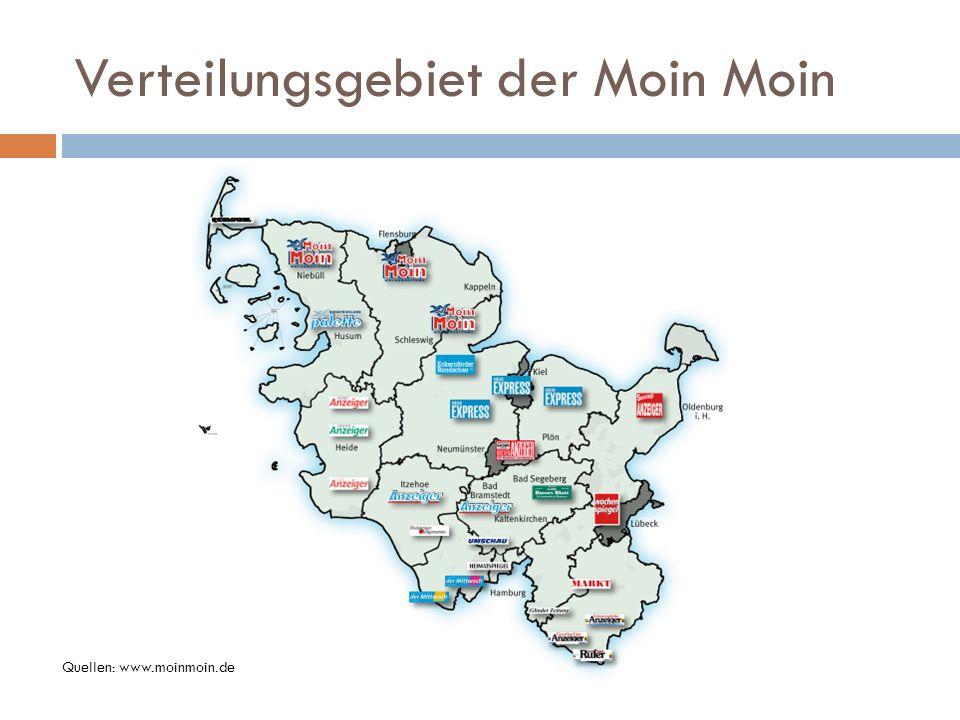Verteilungsgebiet der Moin Moin