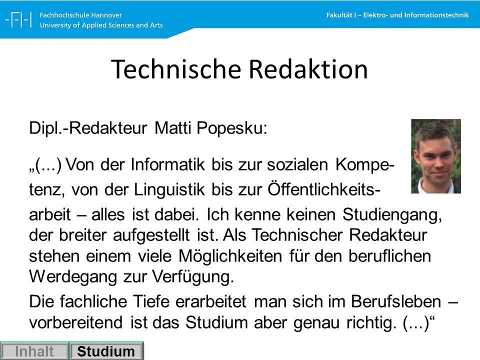 Technische Redaktion