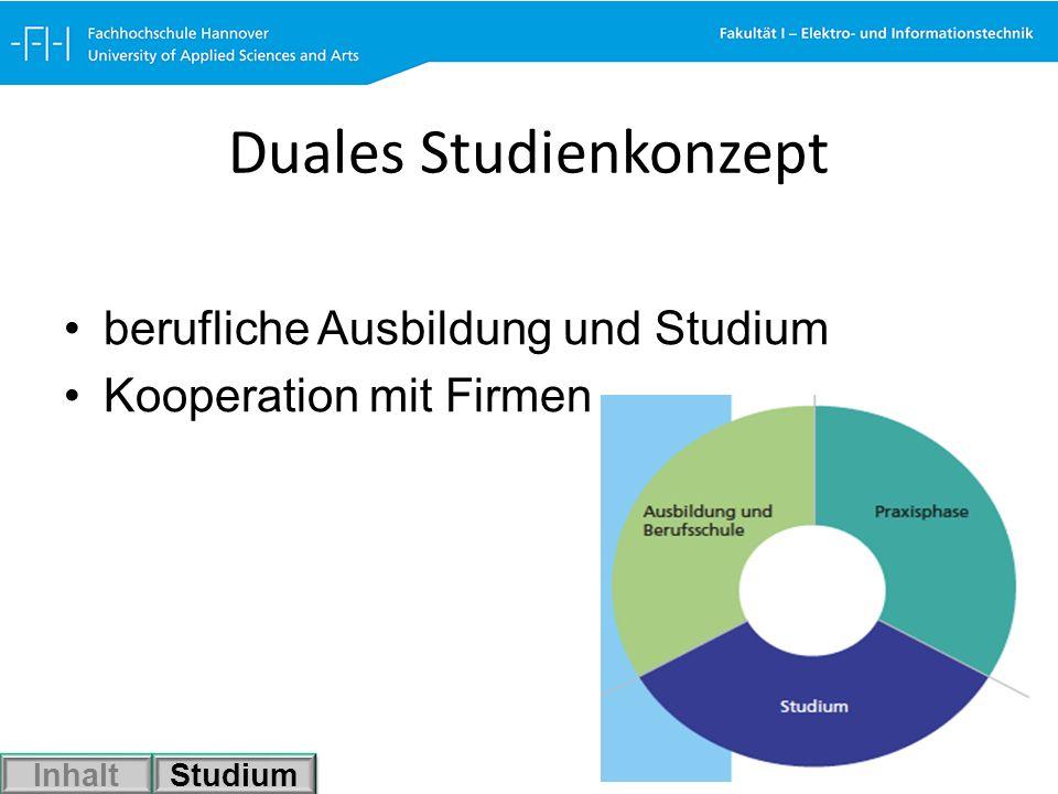Duales Studienkonzept