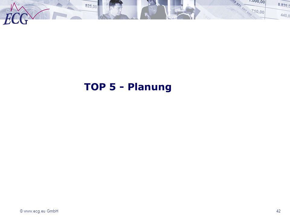 TOP 5 - Planung 42