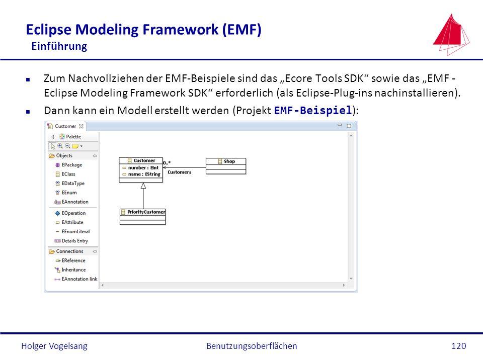 Eclipse Modeling Framework (EMF) Einführung