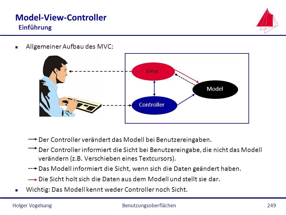 Model-View-Controller Einführung