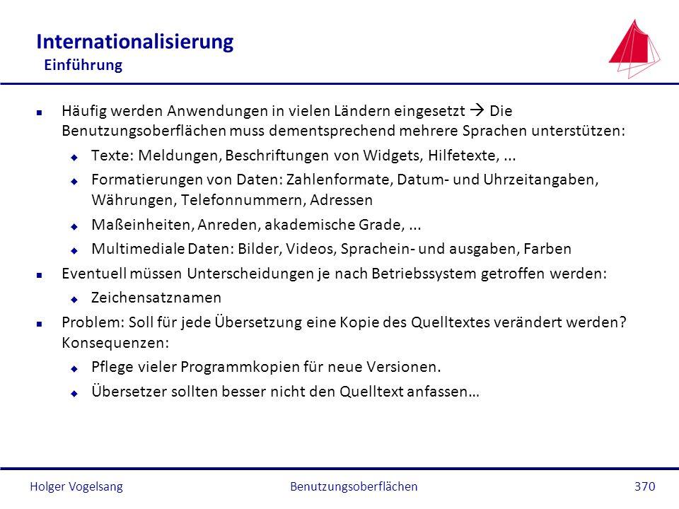 Internationalisierung Einführung