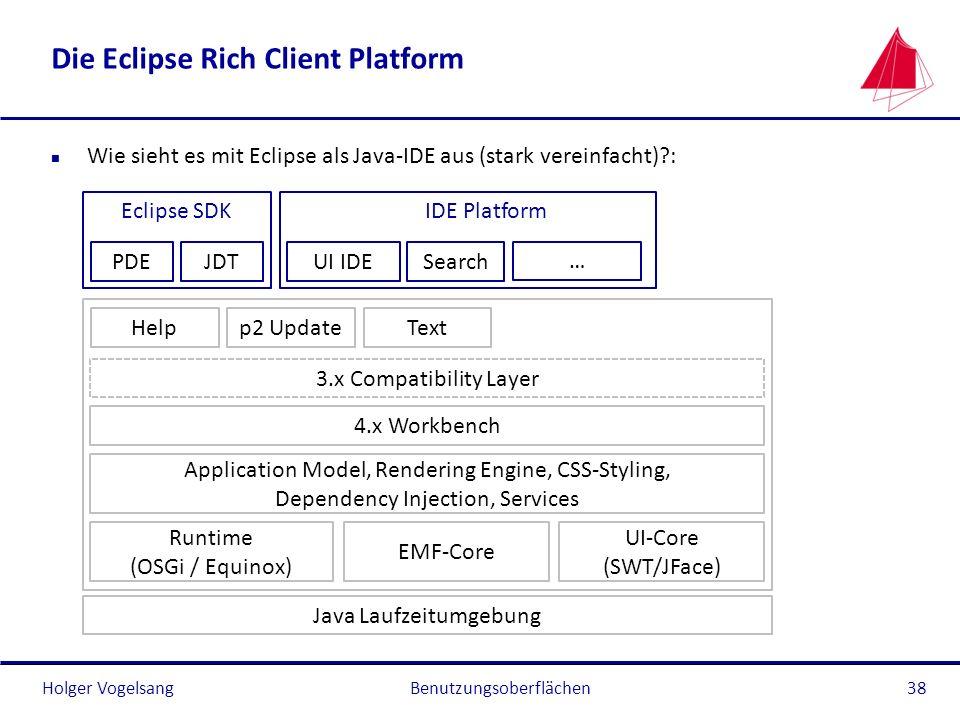 Die Eclipse Rich Client Platform