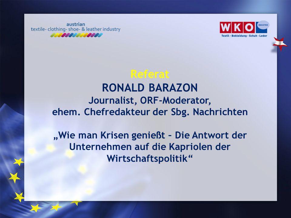 Journalist, ORF-Moderator, ehem. Chefredakteur der Sbg. Nachrichten
