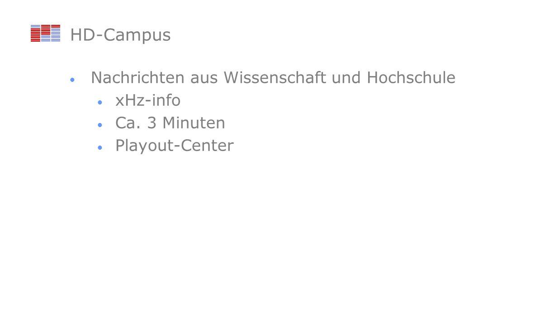 HD-Campus Nachrichten aus Wissenschaft und Hochschule xHz-info