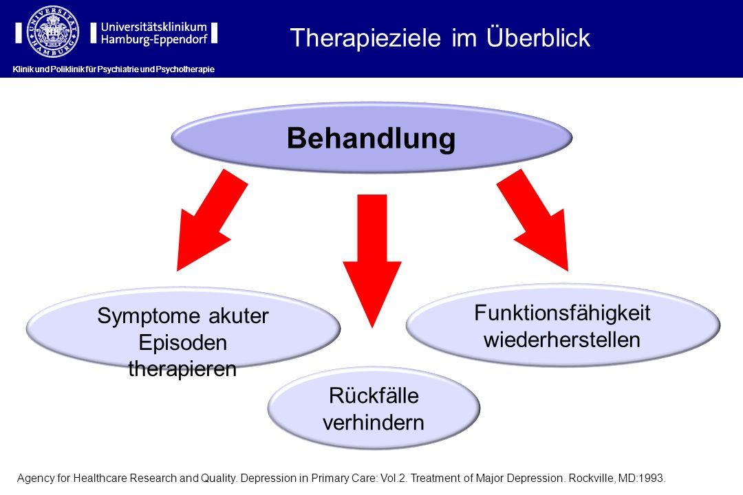 Behandlung Therapieziele im Überblick