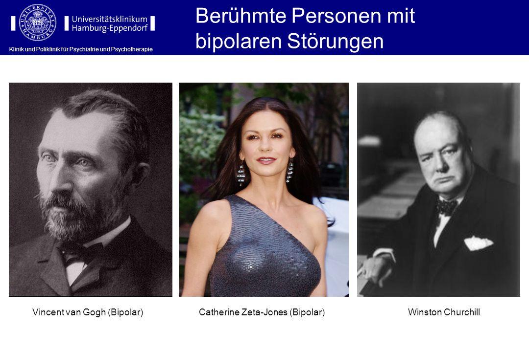 Berühmte Personen mit bipolaren Störungen