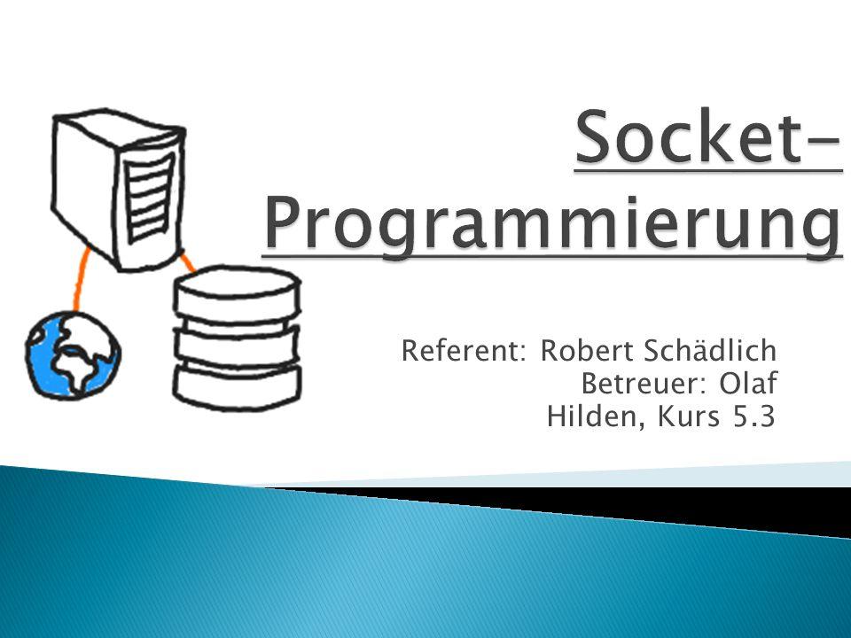 Socket-Programmierung