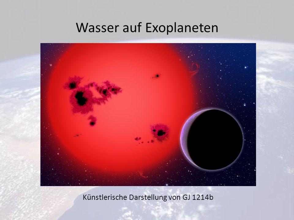 Wasser auf Exoplaneten