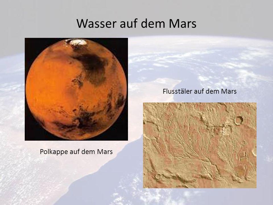 Flusstäler auf dem Mars