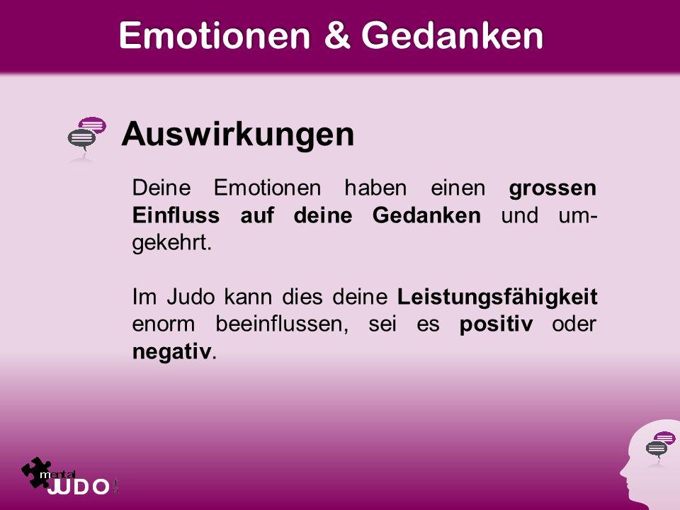 Emotionen & Gedanken Auswirkungen