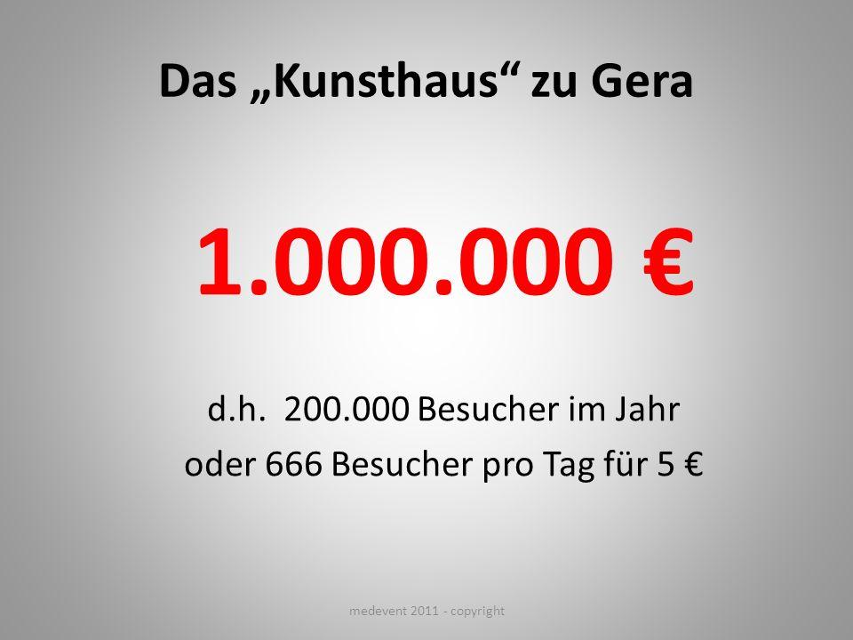 """Das """"Kunsthaus zu Gera"""