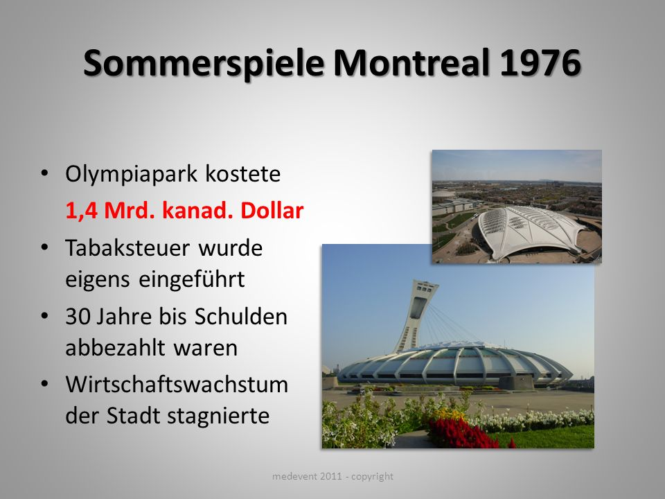Sommerspiele Montreal 1976
