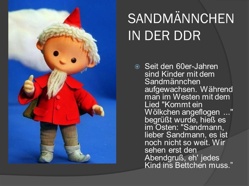 Sandmännchen IN DER DDR