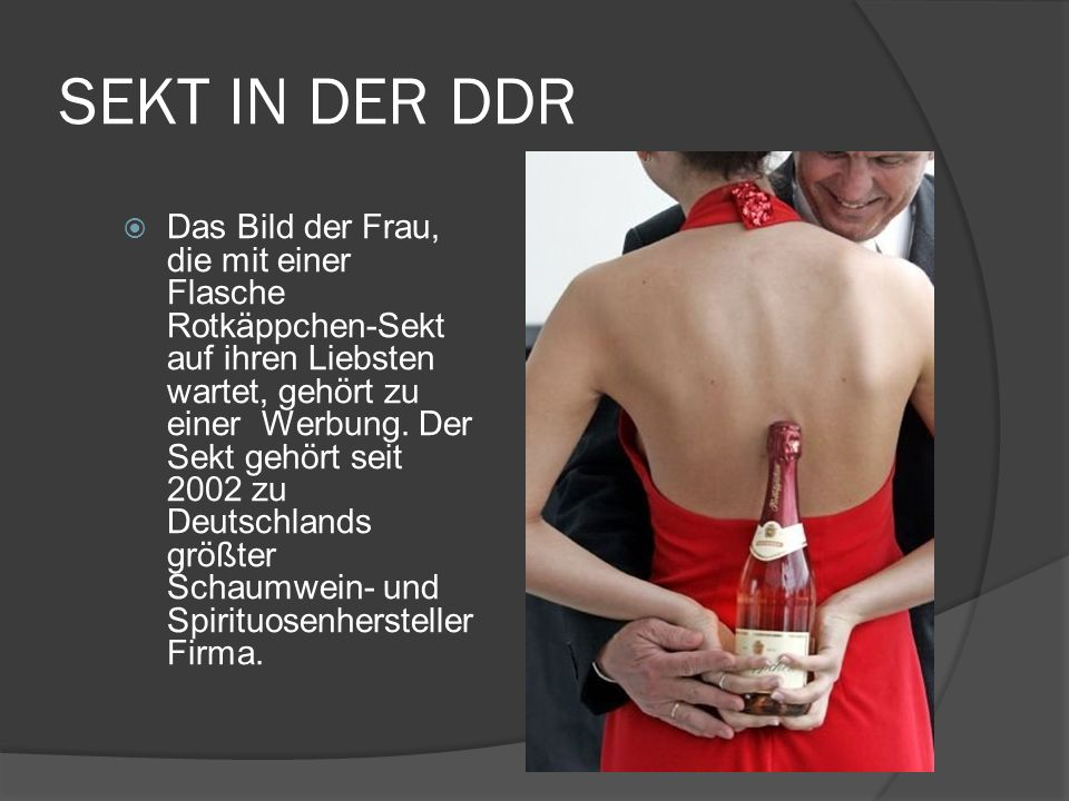 SEKT IN DER DDR