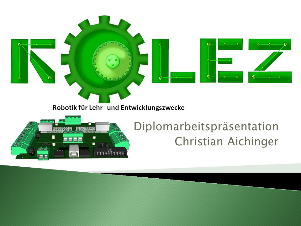 Diplomarbeitspräsentation Christian Aichinger