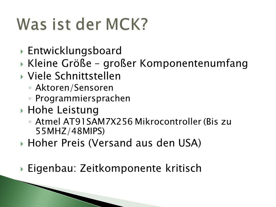 Was ist der MCK Entwicklungsboard